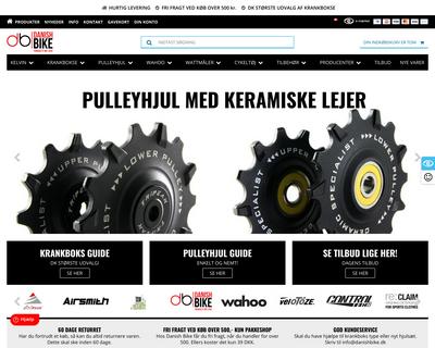 www.danishbike.dk website