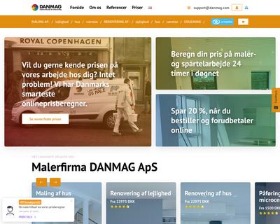 www.danmag.com website