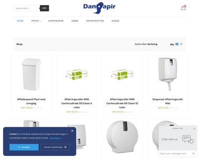 danpapir.dk website