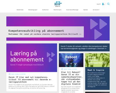 dansk-it.dk website