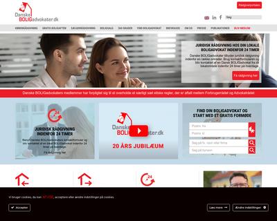 brugadvokat.dk website