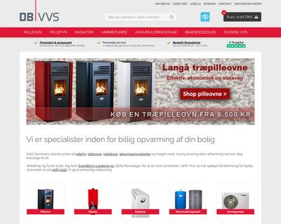 dbvvs.dk website