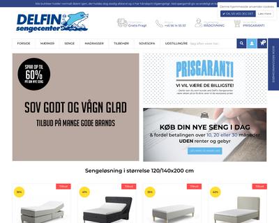 delfinsengecenter.dk website