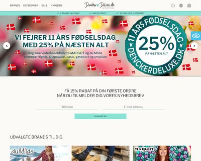 denckerdeluxe.dk website