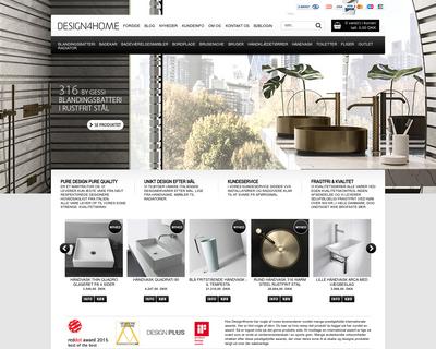 design4home.dk website