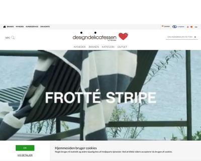 designdelicatessen.dk website