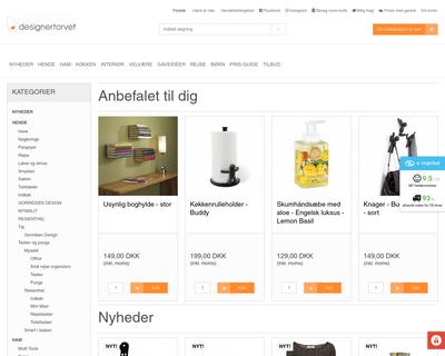designertorvet.dk website