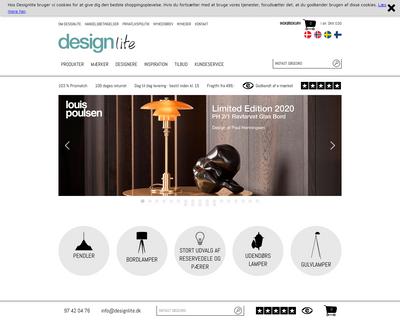designlite.dk website