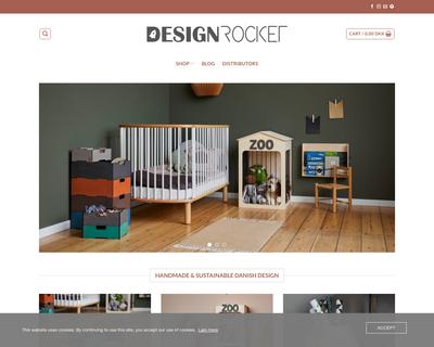 designrocket.dk website
