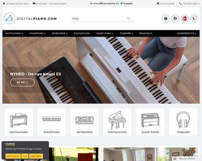 www.digitalpiano.com website