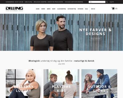 dk.dilling.com website