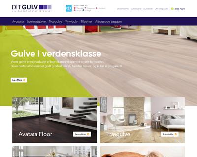 ditgulv.dk website