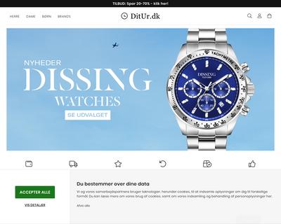 ditur.dk website