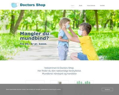 doctors-shop.dk website