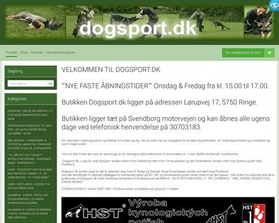 dogsportdk.com website