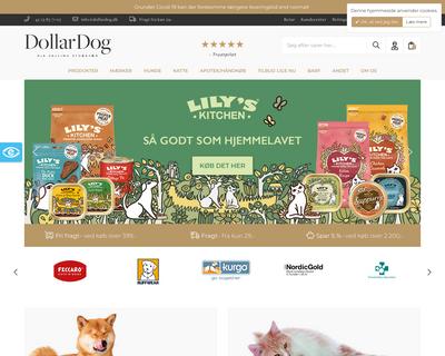 dollardog.dk website
