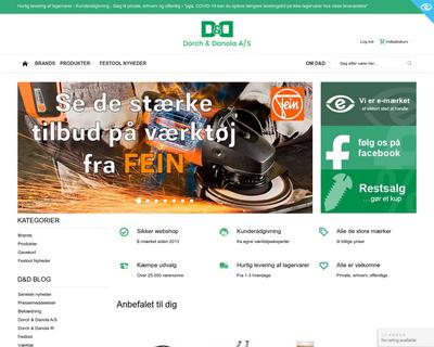www.dorchdanola.dk website