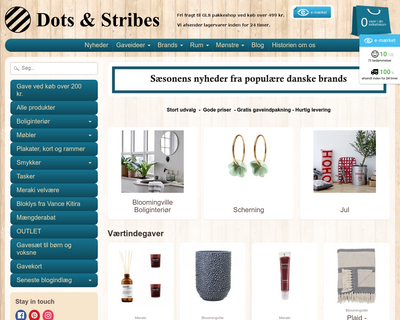 dotsandstribes.dk website