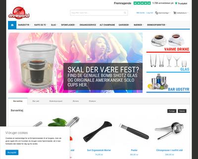 drinkworld.dk website