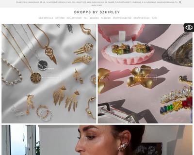 droppsbyszhirley.dk website