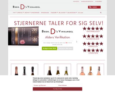 dvin.dk website