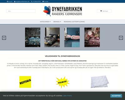 dynefabrikken.dk website
