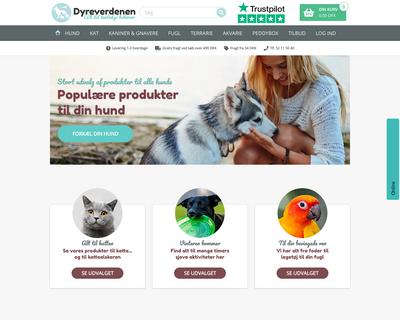 dyreverdenen.dk website