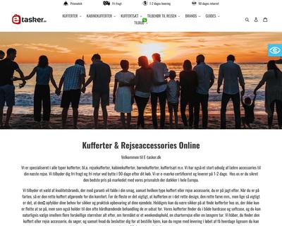 e-tasker.dk website