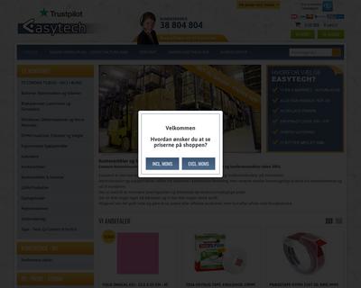 easytech.dk website