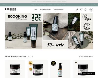 ecooking.dk website