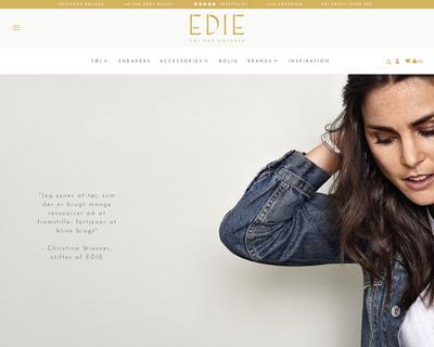 edie.dk website