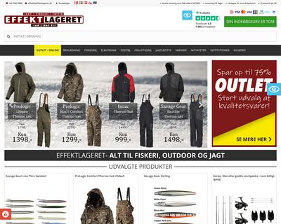 effektlageret.dk website