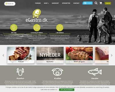 egastro.dk website