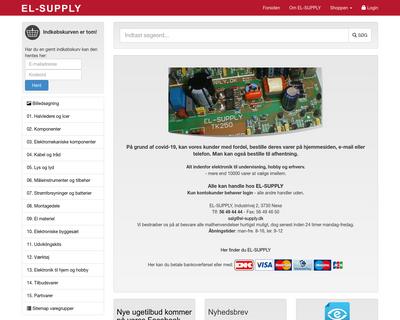 el-supply.dk website