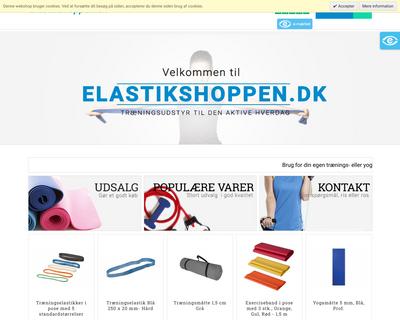 elastikshoppen.dk website