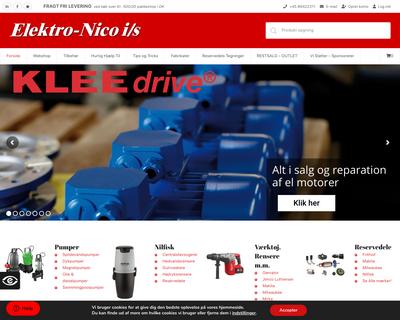 elektronico.dk website
