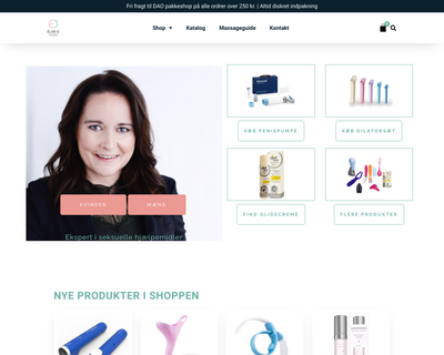 elseoshop.dk website
