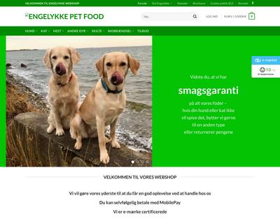 engelykke.dk website