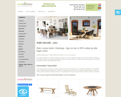 enggaarden-havemoebler.dk website