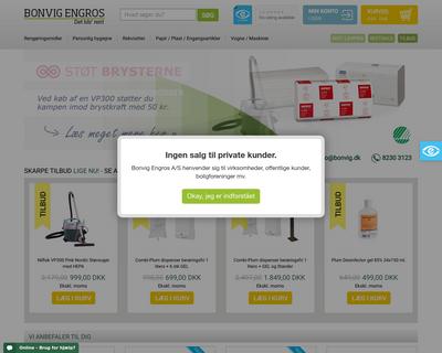 engrosrengoringsmidler.dk website