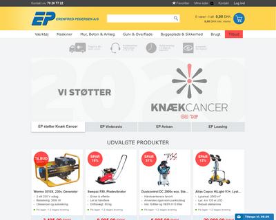 ep.dk website
