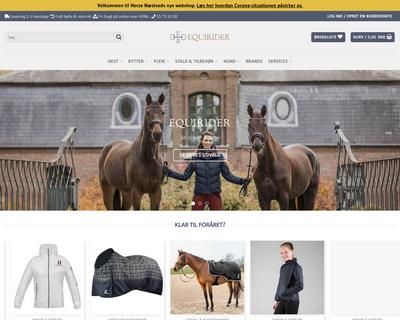equirider.dk website
