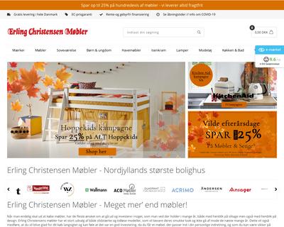 erling-christensen.dk website