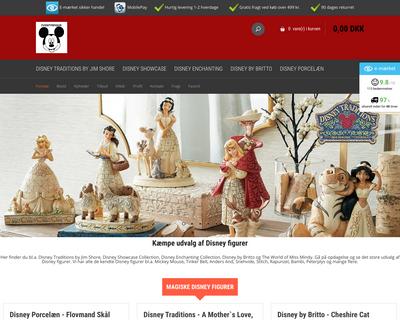 eventyrfigur.dk website
