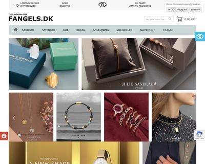 fangels.dk website