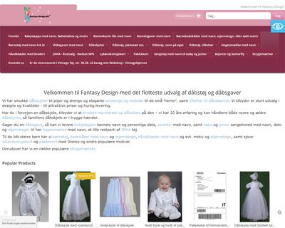 fantasy-design.dk website