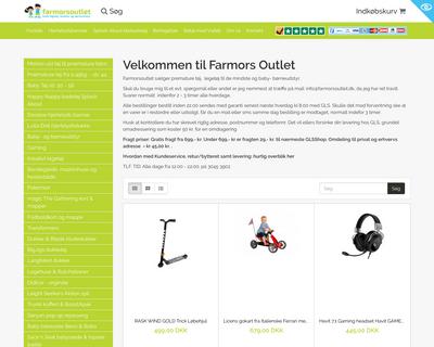 farmorsoutlet.dk website