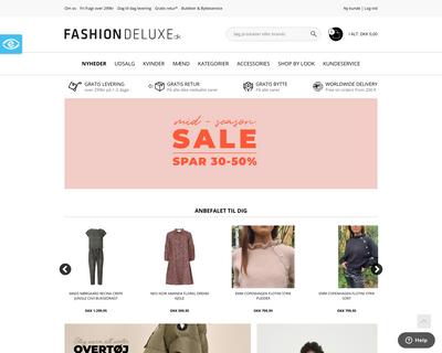 fashiondeluxe.dk website