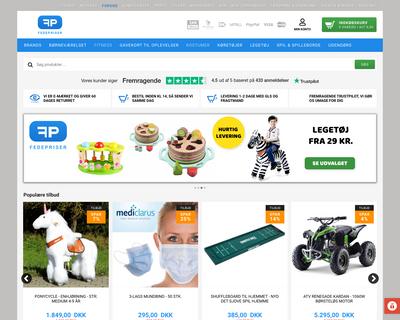 fedepriser.dk website