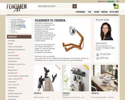 fenomen.dk website
